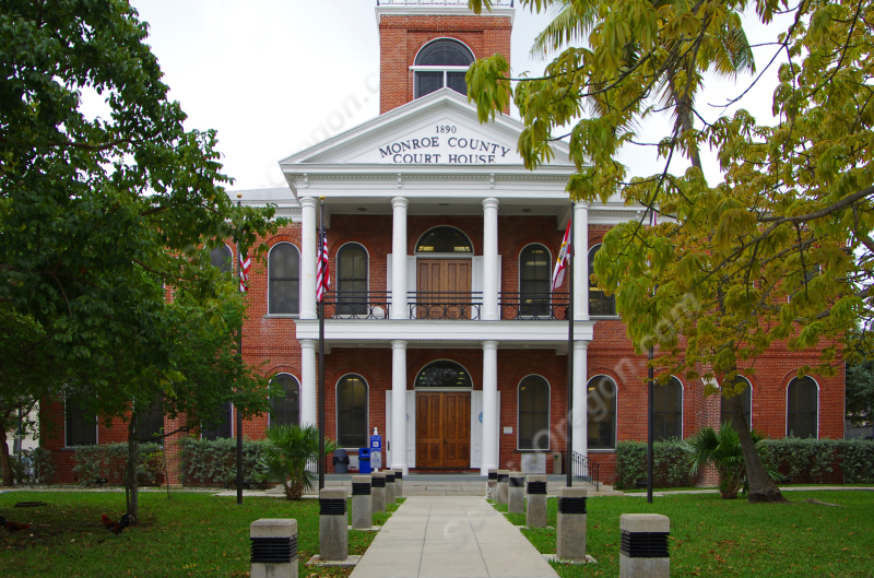 Historic Monroe County Courthouse Key West